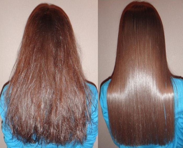 что сделать чтобы волосы блестели после окрашивания